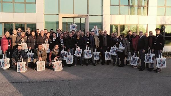 Cire e i suoi clienti visitano Japanparts Group
