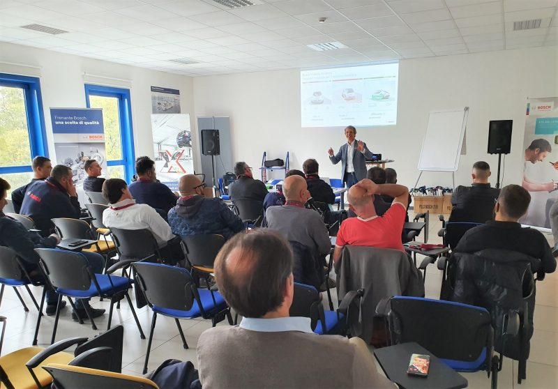 G.S., oltre 250 officine al seminario sul Futuro della diagnosi