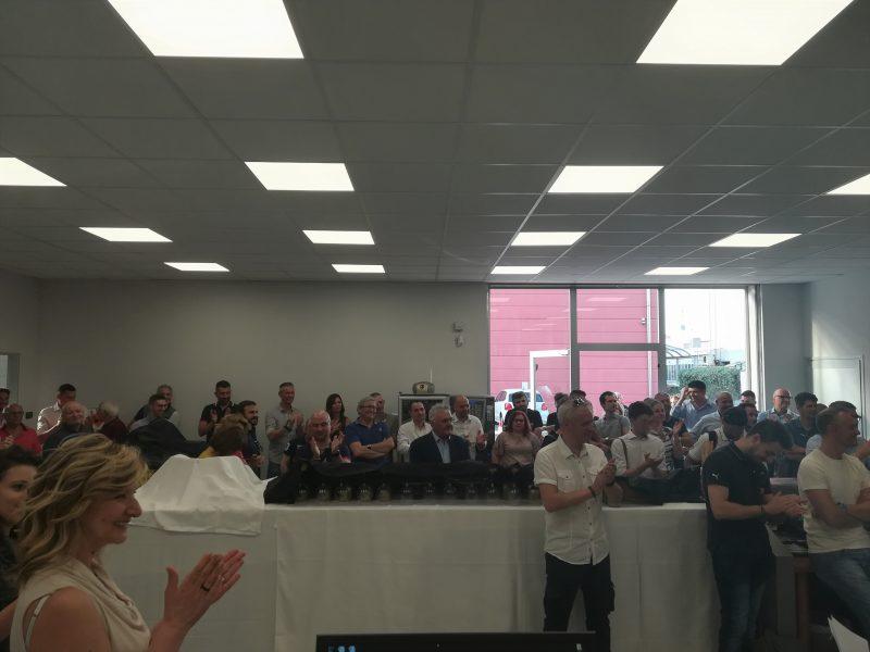 FGL inaugura il nuovo magazzino a Pero