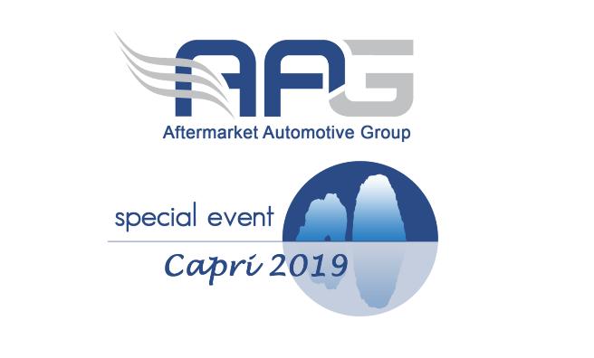 AAG festeggia a Capri il primo compleanno insieme ai suoi ricambisti