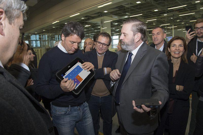 Matteo Renzi visita TEXA