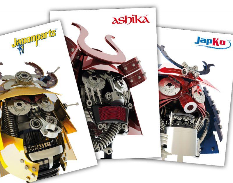 Da Japanparts Group. Nuova gamma prodotti per Japanparts, Ashika e Japko