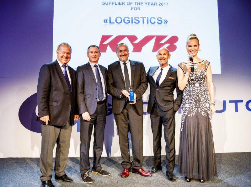 KYB ottiene l'ambito premio internazionale di Groupauto