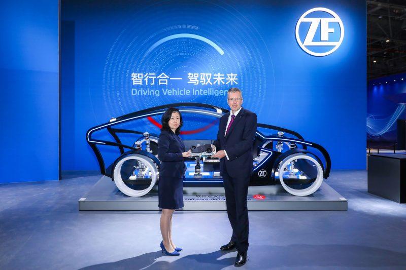 Ad Auto Shanghai i super-computer ProAI di ZF per veicoli intelligenti
