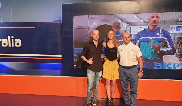 PuntoPRO e Cuscinetti SKF in TV