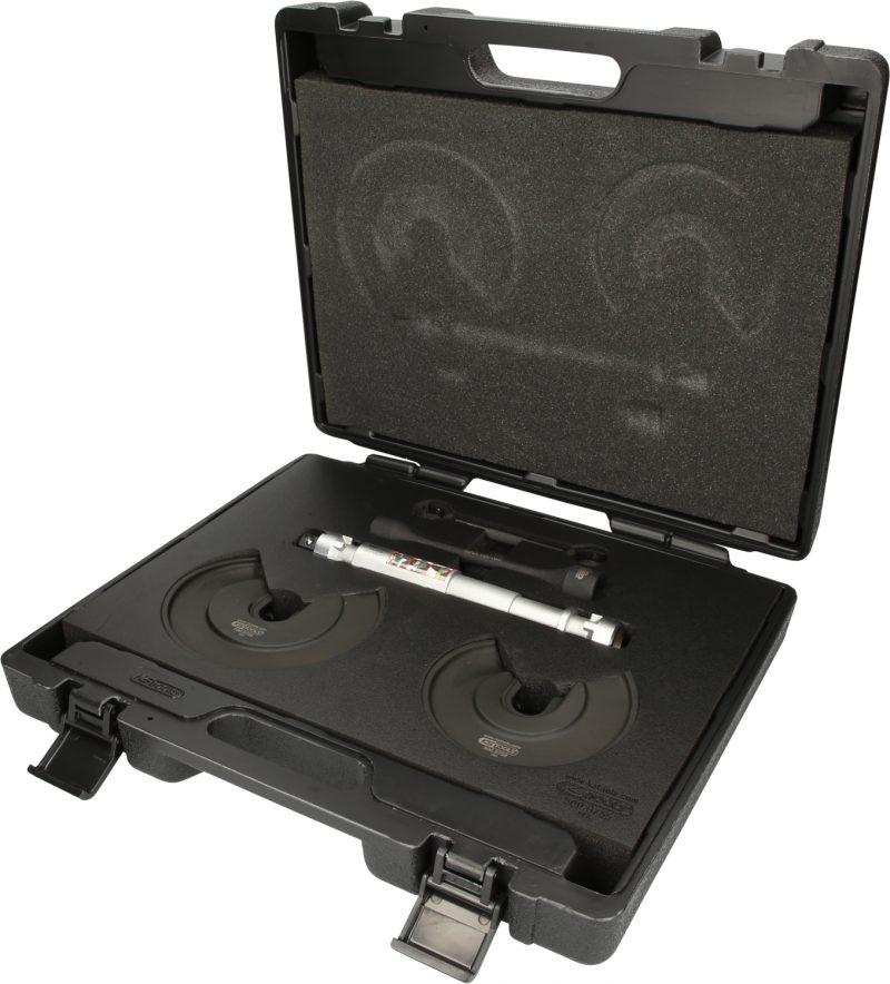 Sostituire le molle senza smontare gli assi, con il nuovo compressore KS Tools
