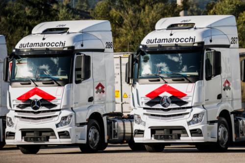 Autamarocchi sceglie Mercedes-Benz Trucks per rinnovo flotta