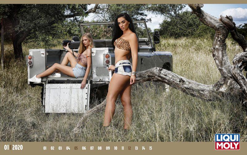 LIQUI MOLY presenta il suo calendario sexy 2020