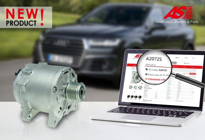 AS-PL amplia la propria offerta con un nuovo alternatore per Audi Q7