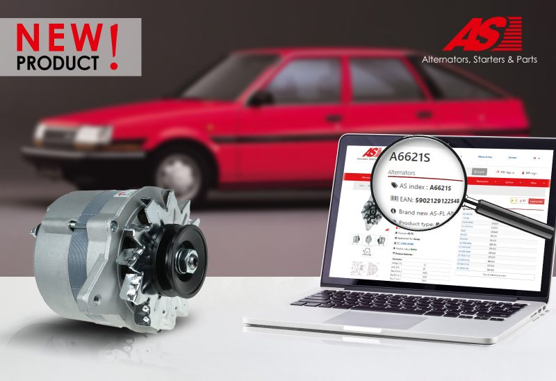 AS-PL: nuovo alternatore per Toyota e Daihatsu