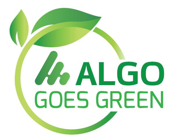 ALGO goes green, per un'azienda sempre più sostenibile