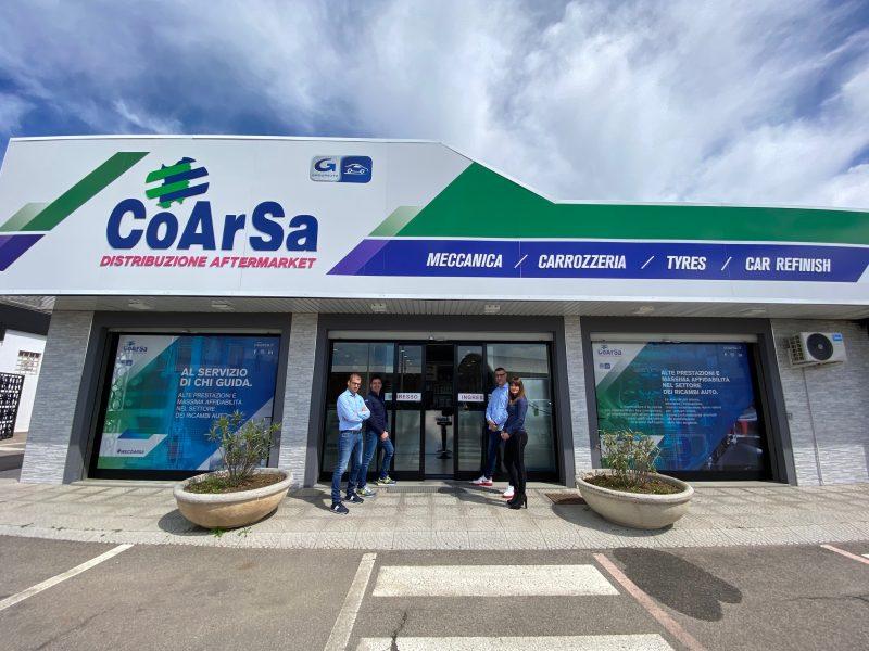 CoArSa cresce e investe: nuova filiale e colorificio a Cagliari