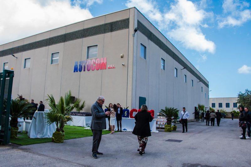 Autocom, nuovo magazzino al servizio della Sicilia