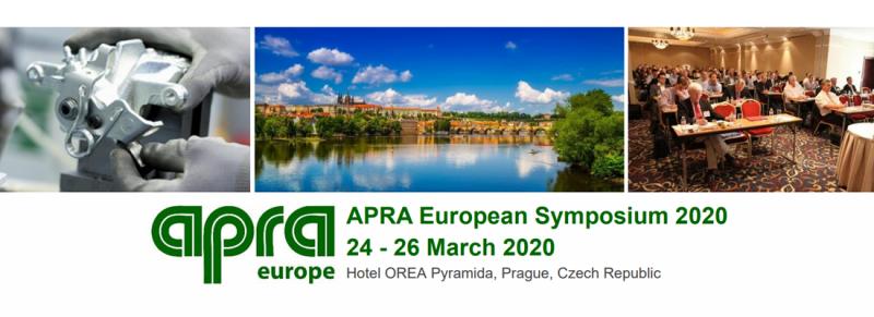 Rigenerato: appuntamento a Praga con l' APRA European Symposium 2020 (24-26 marzo)