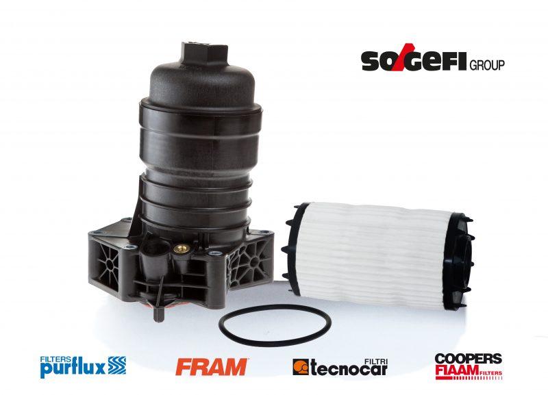 Il modulo filtro olio Sogefi della nuova Audi A6 disponibile per l'aftermarket