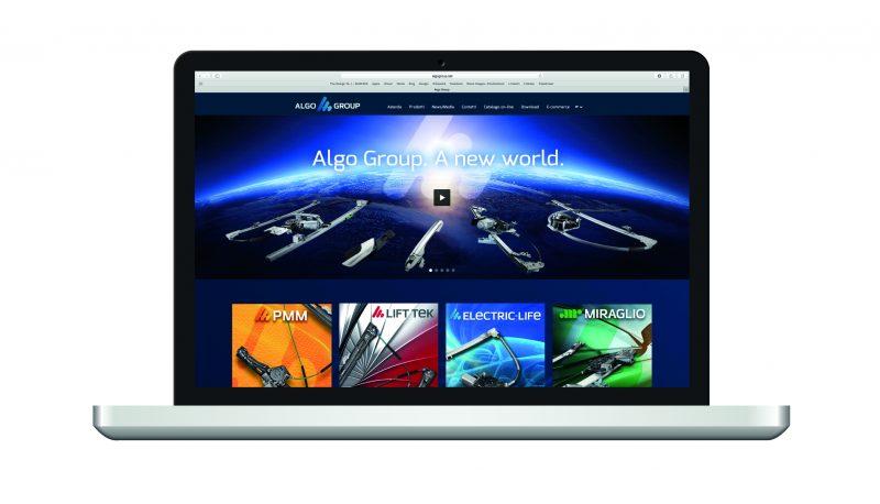 Online il nuovo sito di Algo Group