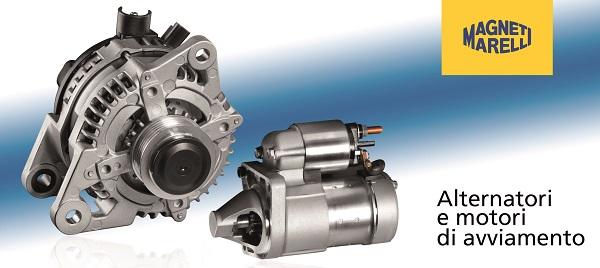 Nuovo catalogo Alternatori e Motori di Avviamento Magneti Marelli