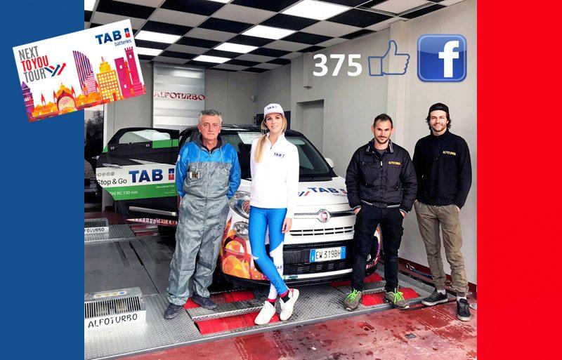 TAB Italia premia l'autofficina Alfoturbo di Garlasco