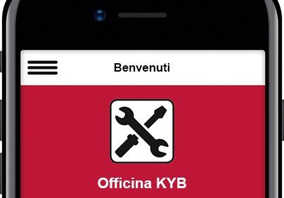Nuove funzionalità per l'App KYB Suspension Solutions