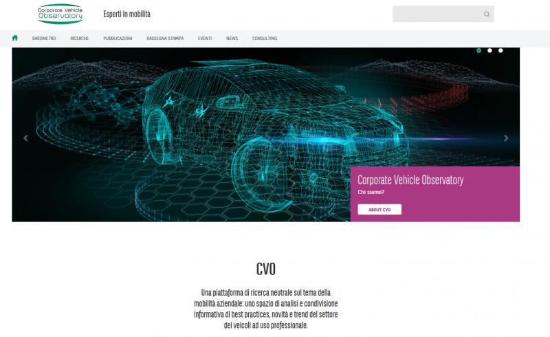 Flotte: nuovo sito del Corporate Vehicle Observatory (CVO) di Arval Italia