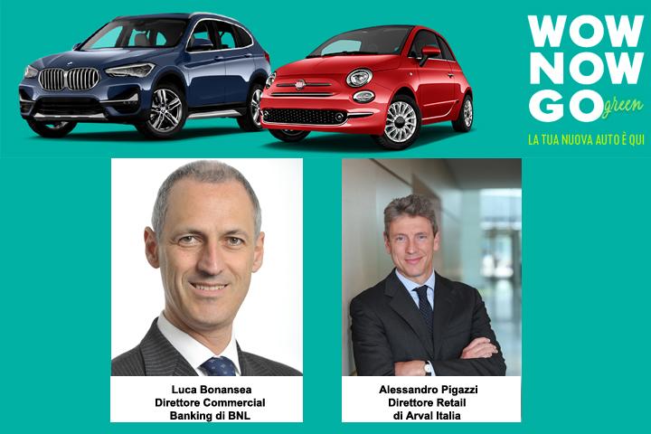 Arval e BNL Gruppo BNP Paribas insieme per lo sviluppo della mobilità sostenibile