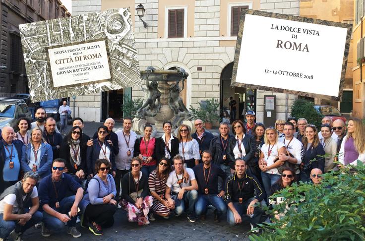 Con Autoluce in visita a Roma