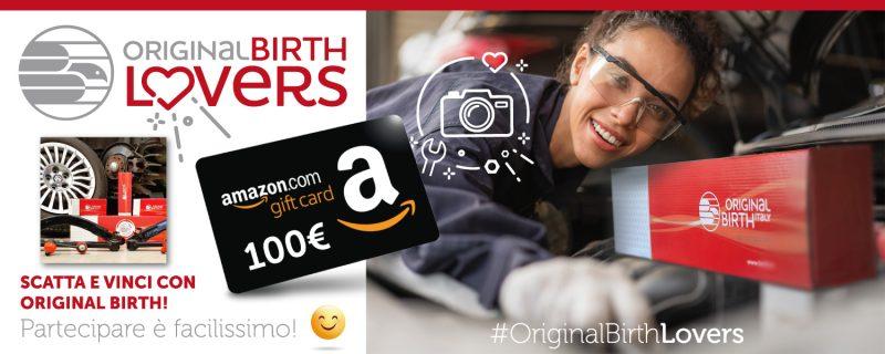 Original Birth lancia il contest #OriginalBirthLovers