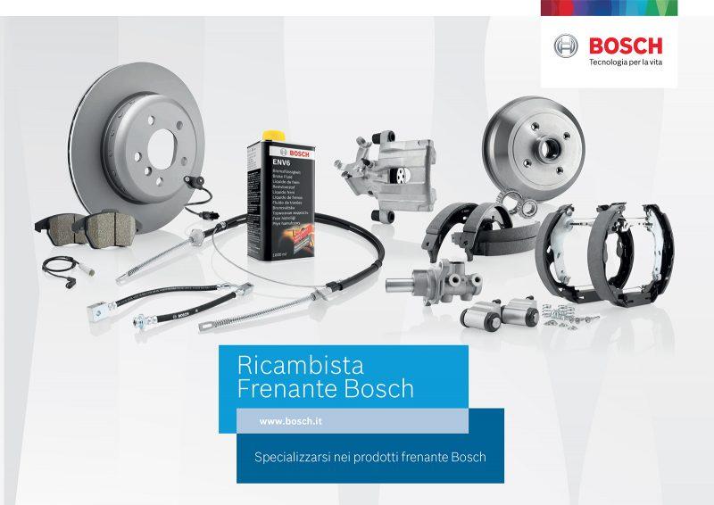 Ricambista frenante Bosch, una scelta per il futuro