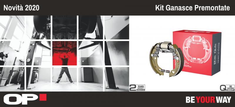OP: in arrivo il Kit Ganasce Premontate