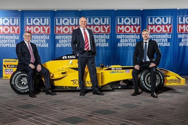 LIQUI MOLY entra in Formula 1