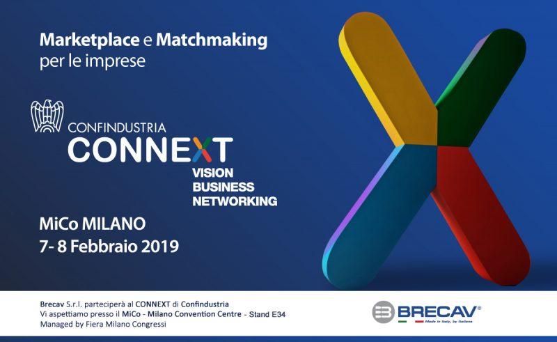 Brecav presente al Connext di Confindustria presso Mico