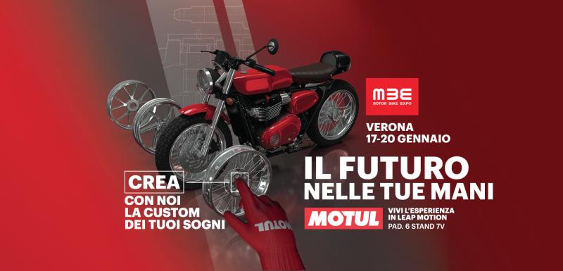 Motul main sponsor del Motor Bike Expo di Verona