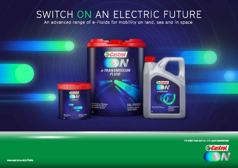 Castrol ON, la nuova gamma di lubrificanti dedicata ai veicoli elettrici