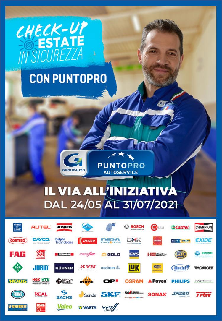 Groupauto: partono i Check-up Estate in sicurezza con PuntoPRO