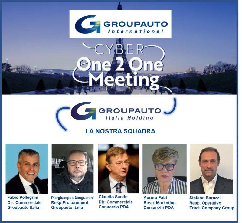Groupauto Cyber One 2 One Meeting : 5 giorni di incontri virtuali con i fornitori
