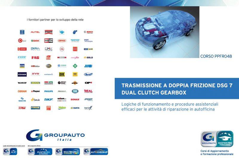 Nuovo Corso MasterPRO 2021 di Groupauto: Trasmissione a doppia frizione DSG 7 Marce – Dual Clutch Gearbox