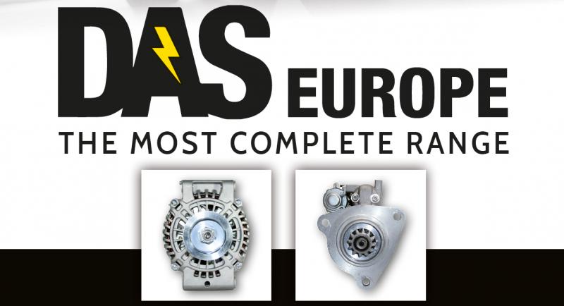 Motorini e alternatori: DAS Europe potenzia la gamma Kühner e apre una nuova filiale