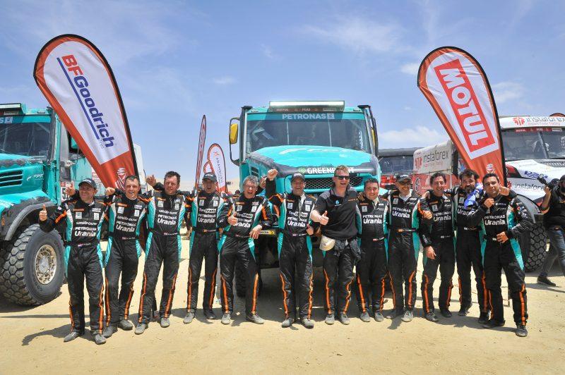 Il Team PETRONAS De Rooy IVECO conclude la Dakar 2019 con un podio
