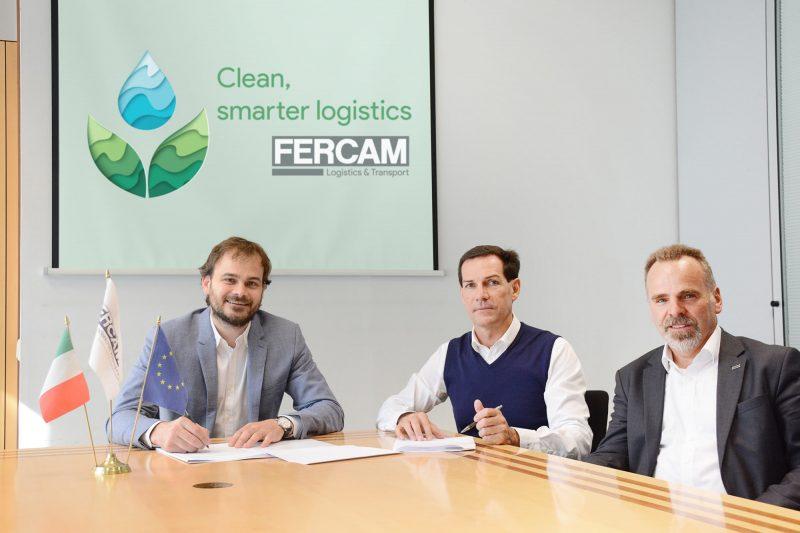 FERCAM sceglie camion a gas liquido LNG per una logistica sostenibile
