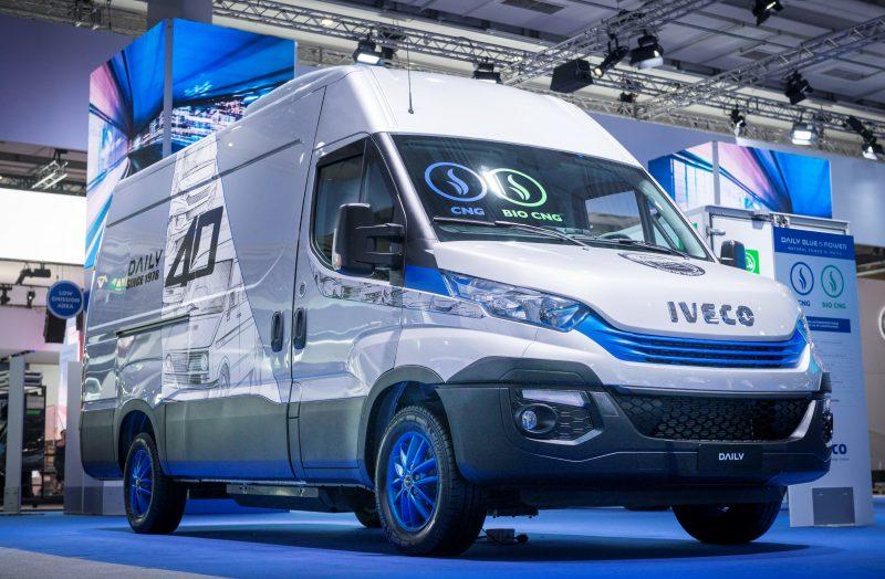 Ad Ecomondo la gamma Iveco di veicoli a gas naturale