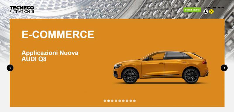 TECNECO rinnova il suo e-commerce