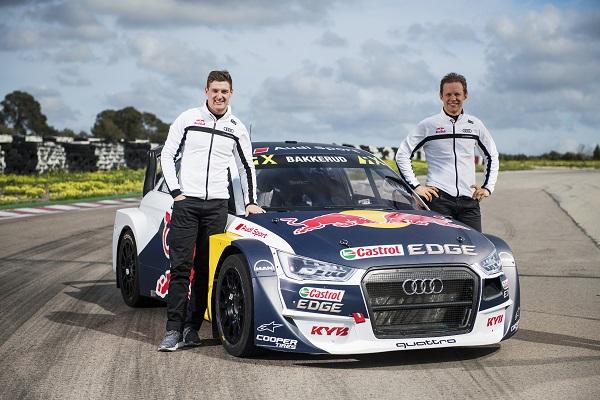 KYB sponsorizza una squadra del campionato mondiale Rallycross FIA