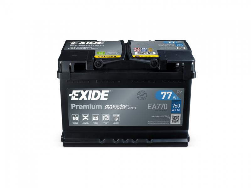 Exide: nuovo design eco-friendly per le batterie Premium