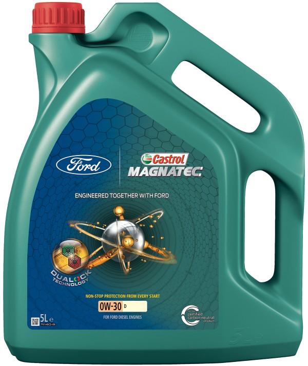 Lubrificanti: la gamma Ford-Castrol MAGNATEC viene arricchita con due nuove formulazioni
