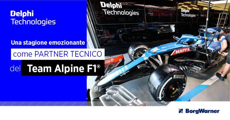 Nuova partnership tra BorgWarner il team di Formula 1 Alpine
