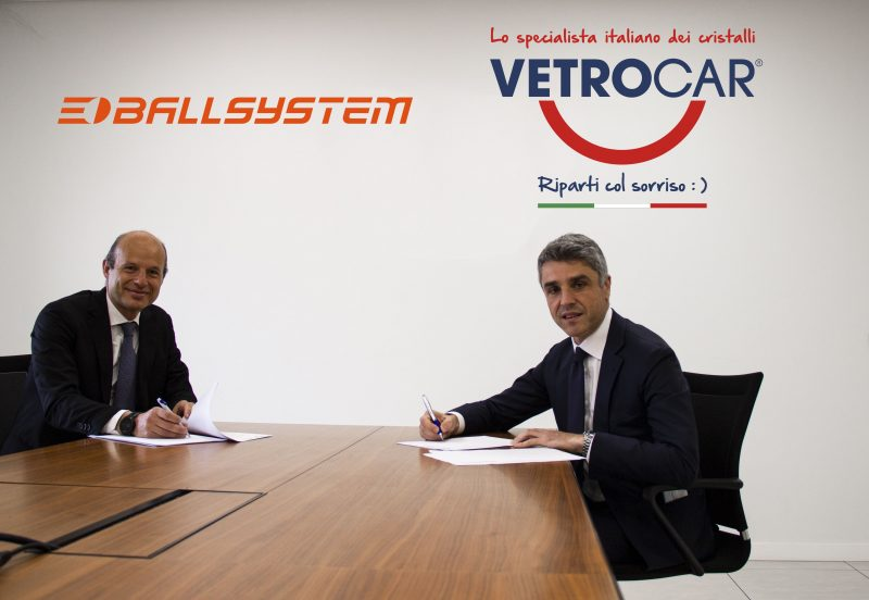 Nuova partnership tra VetroCar e Ballsystem