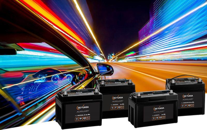 GS Yuasa: ampliata la nuova gamma di batterie ausiliarie per autoveicoli