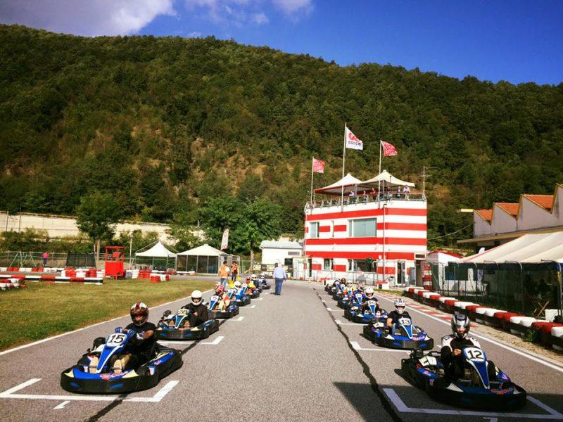 Weekend sui Kart con cliente FIAMM Genova Ricambi