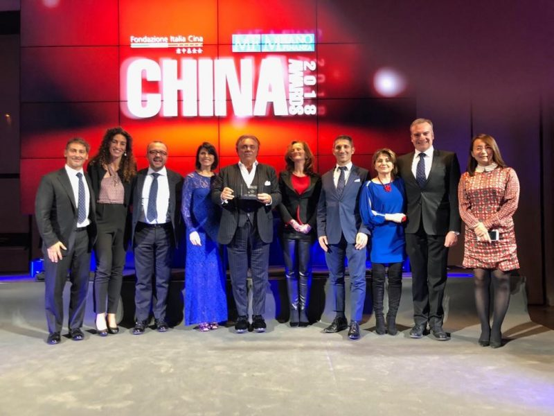 "UFI Filters Group riceve il premio ""Via della Seta"" ai China Awards 2018"