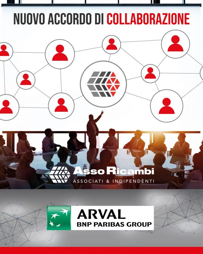 Assoricambi ed Arval, al via la nuova partnership
